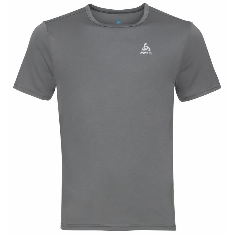 CARDADA-T-shirt voor heren, odlo steel grey, large