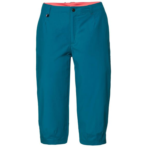 Cheakamus Pants 3/4 women, crystal teal, large