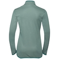 Midlayer full zip FLI, bayou - surf spray stripes, large