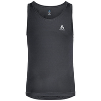 SUW TOP Crew neck Singlet ACTIVE CUBIC LIGHT 2 Pack, ebony grey - black, large