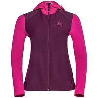 SYNERGY Midlayer-Skijacke, pickled beet - beetroot purple, large