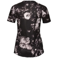 BL TOP s/s MILLENNIUM ELEMENT Print, black - flower AOP SS19, large