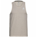 Men's MILLENNIUM Singlet, silver cloud melange, large