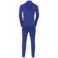 ACTIVE WARM KIDS One Piece Suit, clematis blue - AOP FW19, large