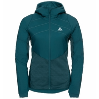 Women's MILLENNIUM S-THERMIC Running Jacket, submerged, large