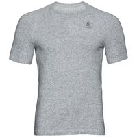 BL TOP Crew neck s/s MILLENNIUM LINENCOOL PRO, grey melange, large