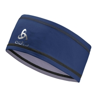 POLYKNIT LIGHT Headband, estate blue, large
