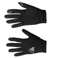 Gants NATURAL + WARM, black, large