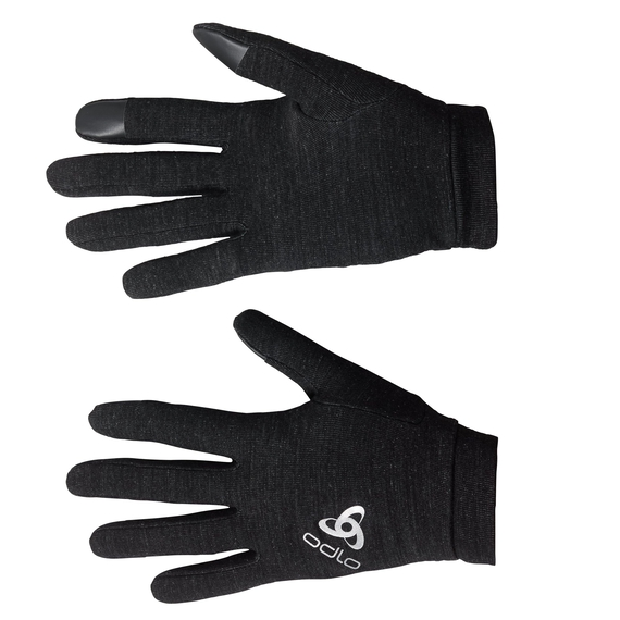 NATURAL+ WARM Gloves, black, large