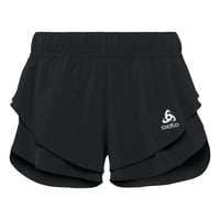 ZEROWEIGHT-short met split voor dames, black, large