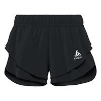 Women's ZEROWEIGHT Split Shorts, black, large