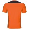 BL Top Crew neck s/s CERAMICOOL, orange clown fish - black, large