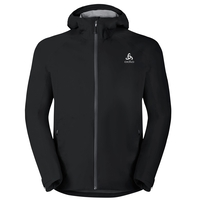 Men's AEGIS Hardshell Jacket, black, large