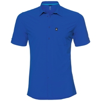 T-skjorte kortermet SAIKAI COOL, energy blue, large