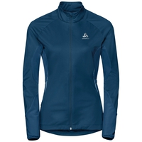ZEROWEIGHT WINDPROOF WARM-jas voor dames, poseidon, large