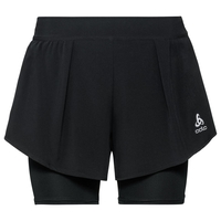 Damen ZEROWEIGHT CERAMICOOL PRO 2-in-1 Shorts, black, large