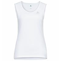 Women's CARDADA Singlet, white, large
