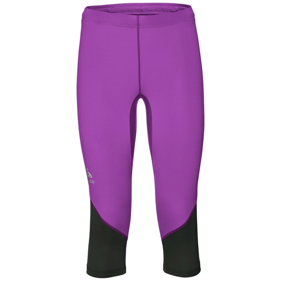 Tights 3/4 FURY LO, violet - frame pink, large