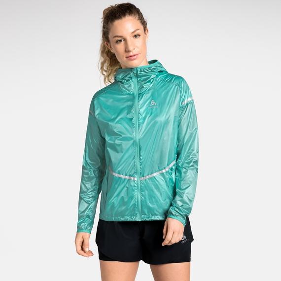 Damen ZEROWEIGHT PRO Jacke, pool green, large