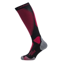 MUSCLE FORCE CERAMIWARM WARM PRO Over-the-Calf Socks, black - cerise, large