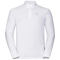 Men's ORSINO 1/2 Zip Midlayer, white, large