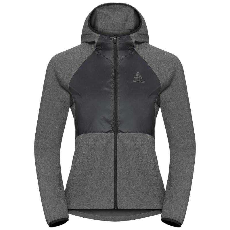 Women's MILLENNIUM LINENCOOL PRO Jacket, black melange, large