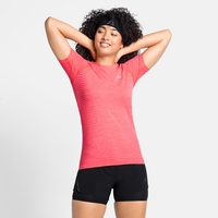 Damen ESSENTIAL SEAMLESS T-Shirt, siesta melange, large