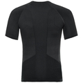 PERFORMANCE ESSENTIALS WARM-basislaag-T-shirt voor heren, black - odlo graphite grey, large
