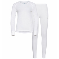 Women's ACTIVE WARM ECO Long Baselayer Set, white, large
