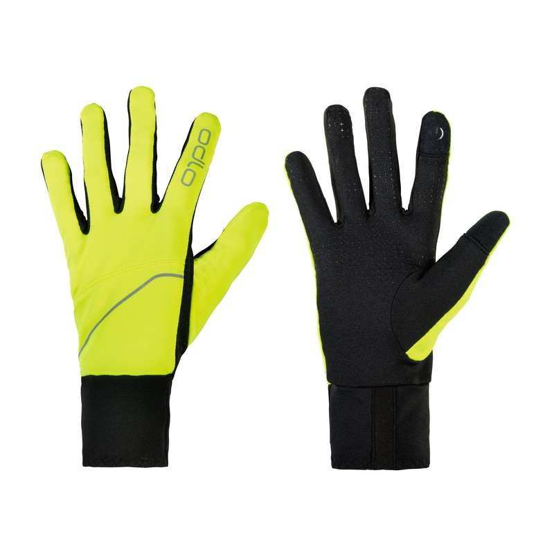 INTENSITY SAFETY LIGHT Gloves, safety yellow, large