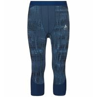BLACKCOMB-basislaagbroek met 3/4-lengte voor heren, estate blue, large