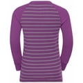 Ensemble de sous-vêtements ACTIVE WARM ECO KIDS pour enfant, hyacinth violet - grey melange - stripes, large