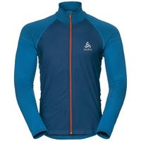 Jacket VELOCITY ELEMENT, blue opal - orangeade, large