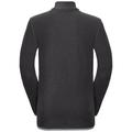 Pull ½ zippé ROYALE KIDS STRIPE pour enfant, shale grey - black stripes, large