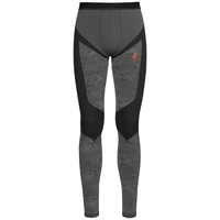 Pants Blackcomb EVOLUTION WARM, black - odlo concrete grey - orangeade, large