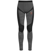 Pants Blackcomb EVOLUTION WARM, black - odlo concrete grey - orangeade, large