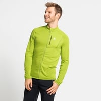 Men's FLI LIGHT Full-Zip Midlayer, macaw green, large