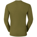 Maglia Base Layer a manica lunga ACTIVE WARM da uomo, winter moss, large