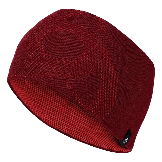 Headband Light GAGE REVERSIBLE Warm, syrah - fiery red, large