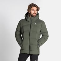 Jacket insulated SKI COCOON, climbing ivy - black, large