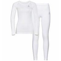 Women's WINTER SPECIALS PERFORMANCE EVOLUTION WARM Baselayer Set, white, large
