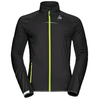 Jacket ZEROWEIGHT logic, black - safety yellow, large