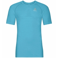 Men's ESSENTIAL SEAMLESS T-Shirt, horizon blue melange, large