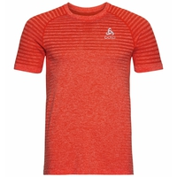 SEAMLESS ELEMENT-T-shirt voor heren, orange.com melange, large