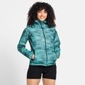 Women's FLI 2.5L WATERPROOF PRINT Hardshell Jacket, jaded - graphic SS21, large