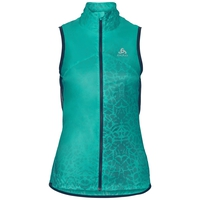 Vest OMNIUS Light, pool green - AOP SS18, large