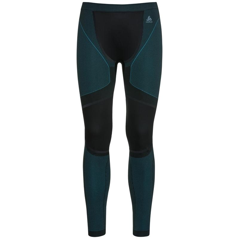 Men's PERFORMANCE WINDSHIELD XC LIGHT Sports-Underwear Pants, black - lake blue, large