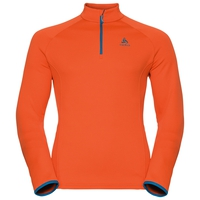 Midlayer 1/2 zip INYO, orangeade, large