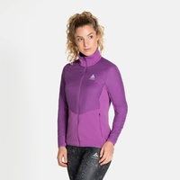 Giacca running MILLENNIUM S-THERMIC ELEMENT da donna, hyacinth violet, large