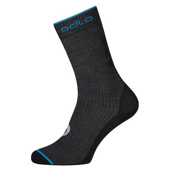 Socks long ALLROUND WARM, odlo graphite grey, large